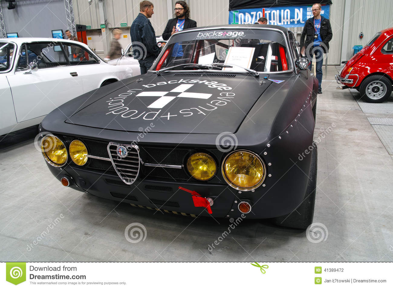 Classic Sports Car, Alfa Romeo Editorial Photography  Image: 41389472