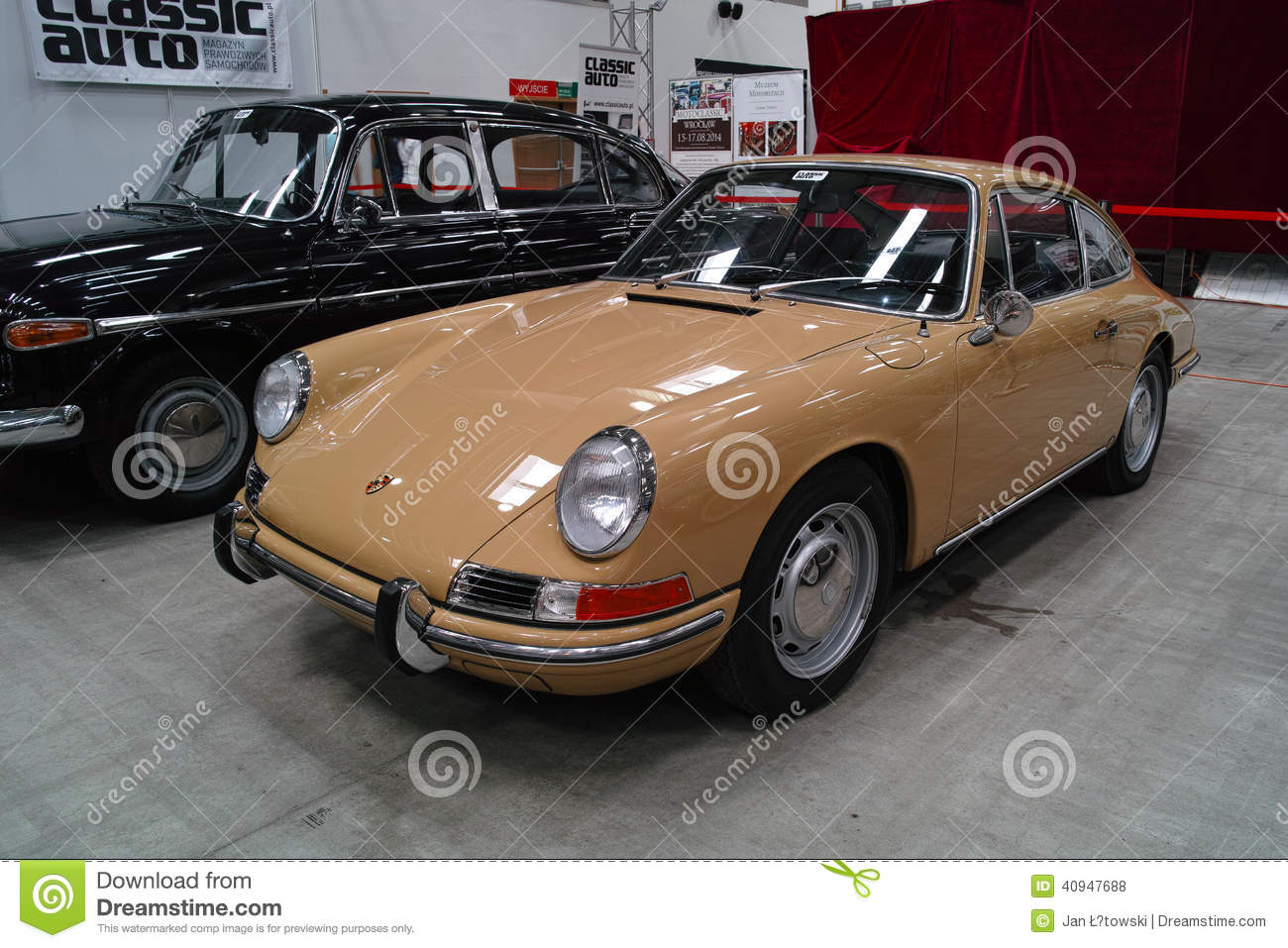 Classic Sports Car Editorial Stock Photo Image 40947688