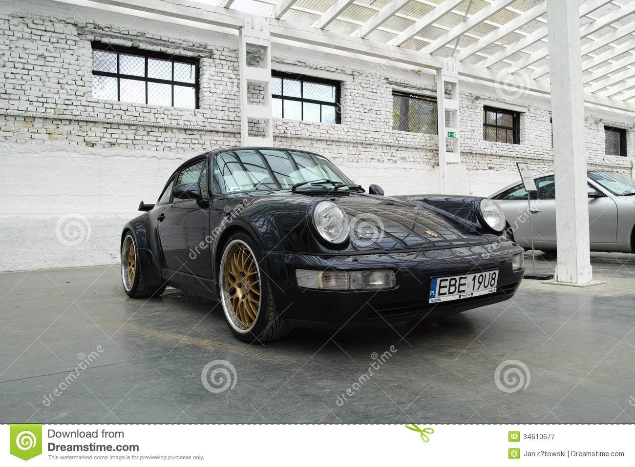 Classic Sports Car, Porsche 911 Editorial Photography  Image