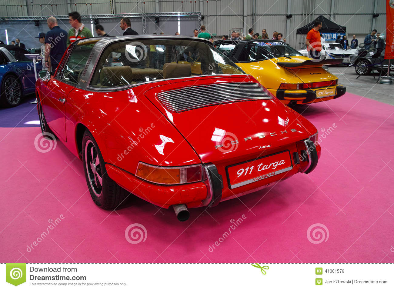 Classic Sports Cars, Porsche 911 Targa Editorial Photo  Image