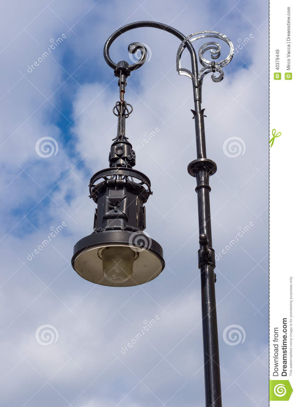 Classic street lamp stock image. Image of street, electric - 40379449 for Classic Street Lamp  54lyp