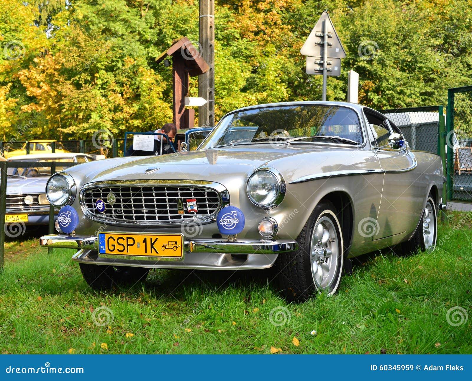 Classic Swedish Car Volvo P1800 Editorial Stock Image - Image of ...