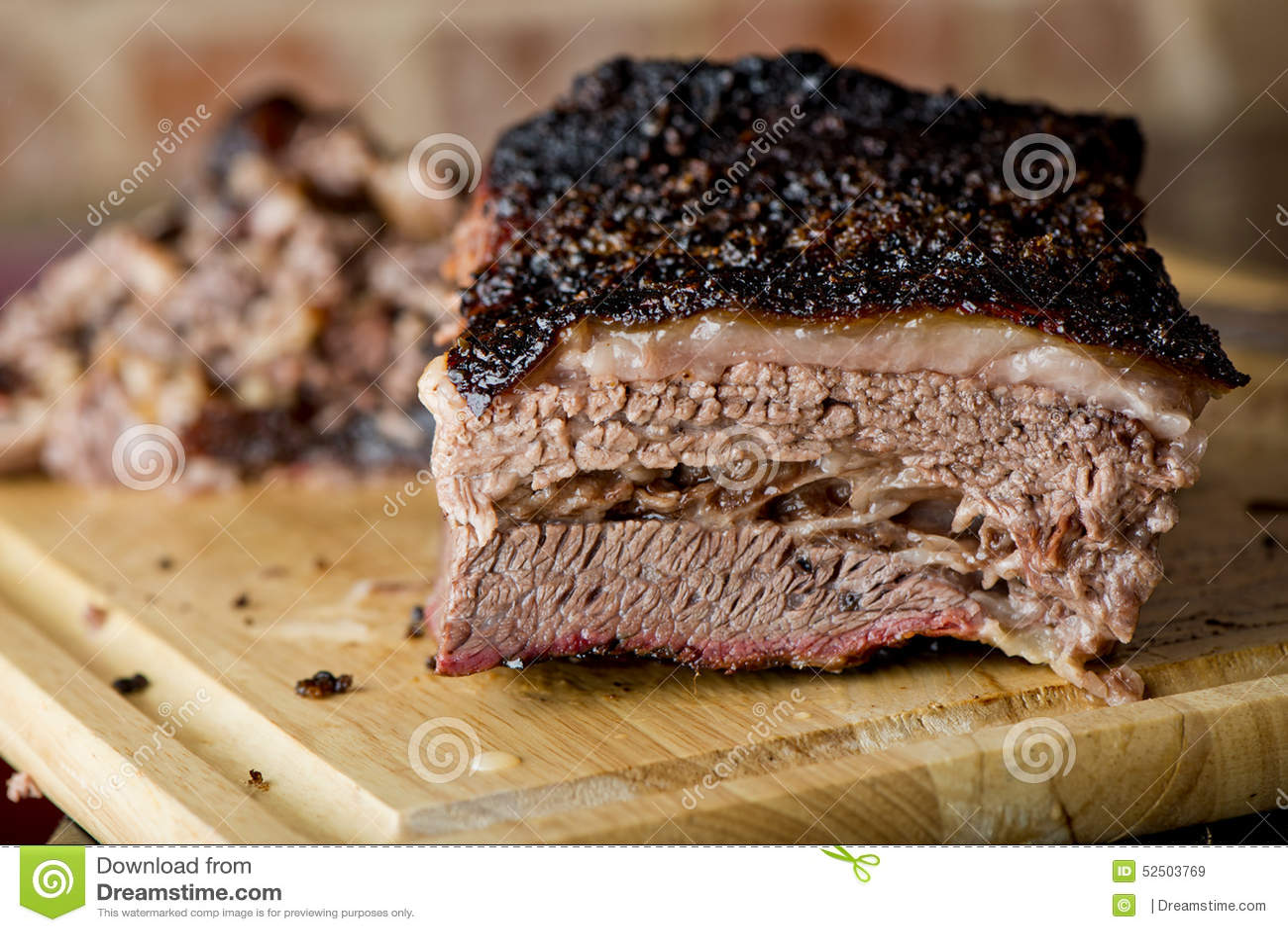Classic Texas Smoked Beef Brisket