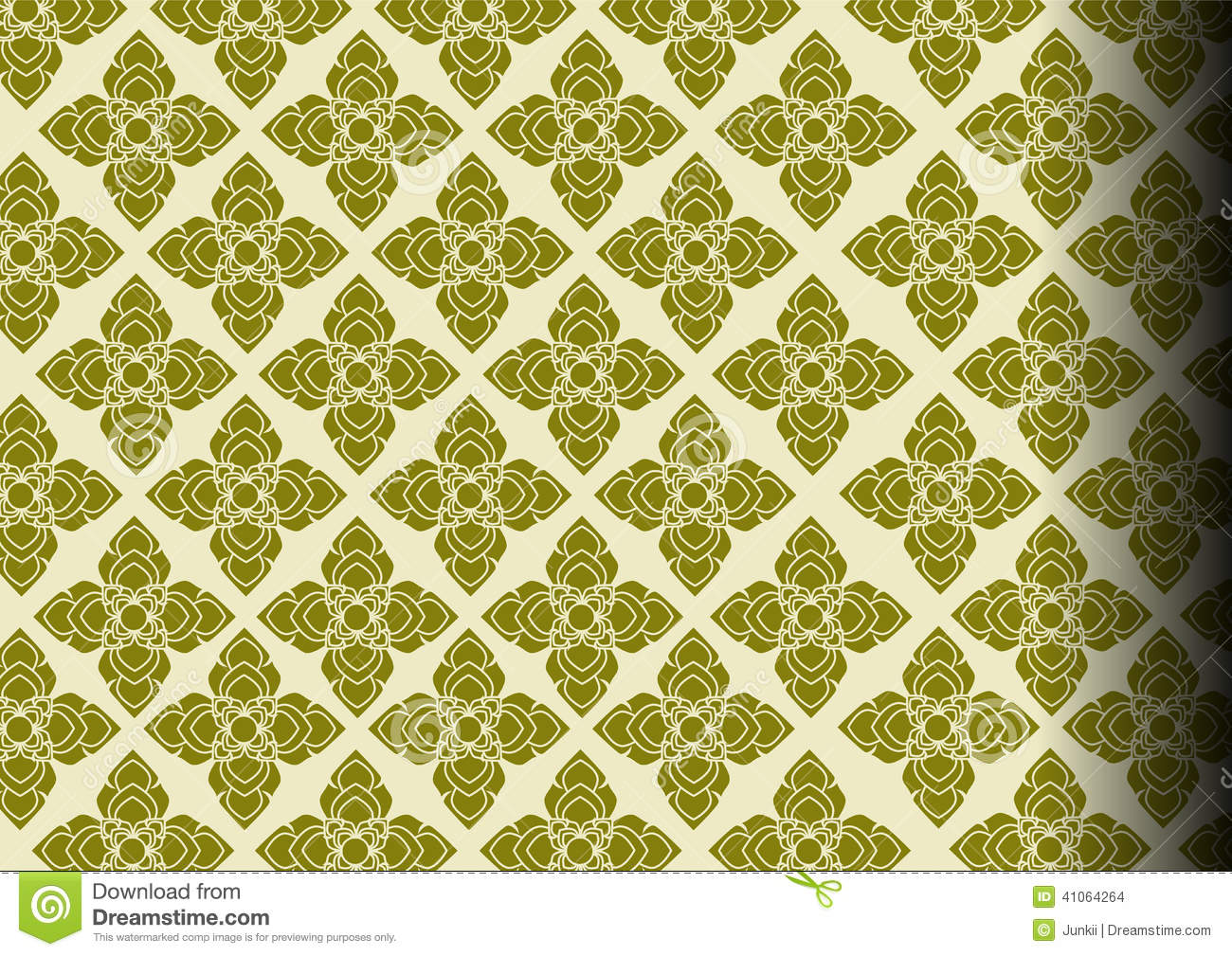 Seamless Thai pattern, repetitive background from Thailand vector ...