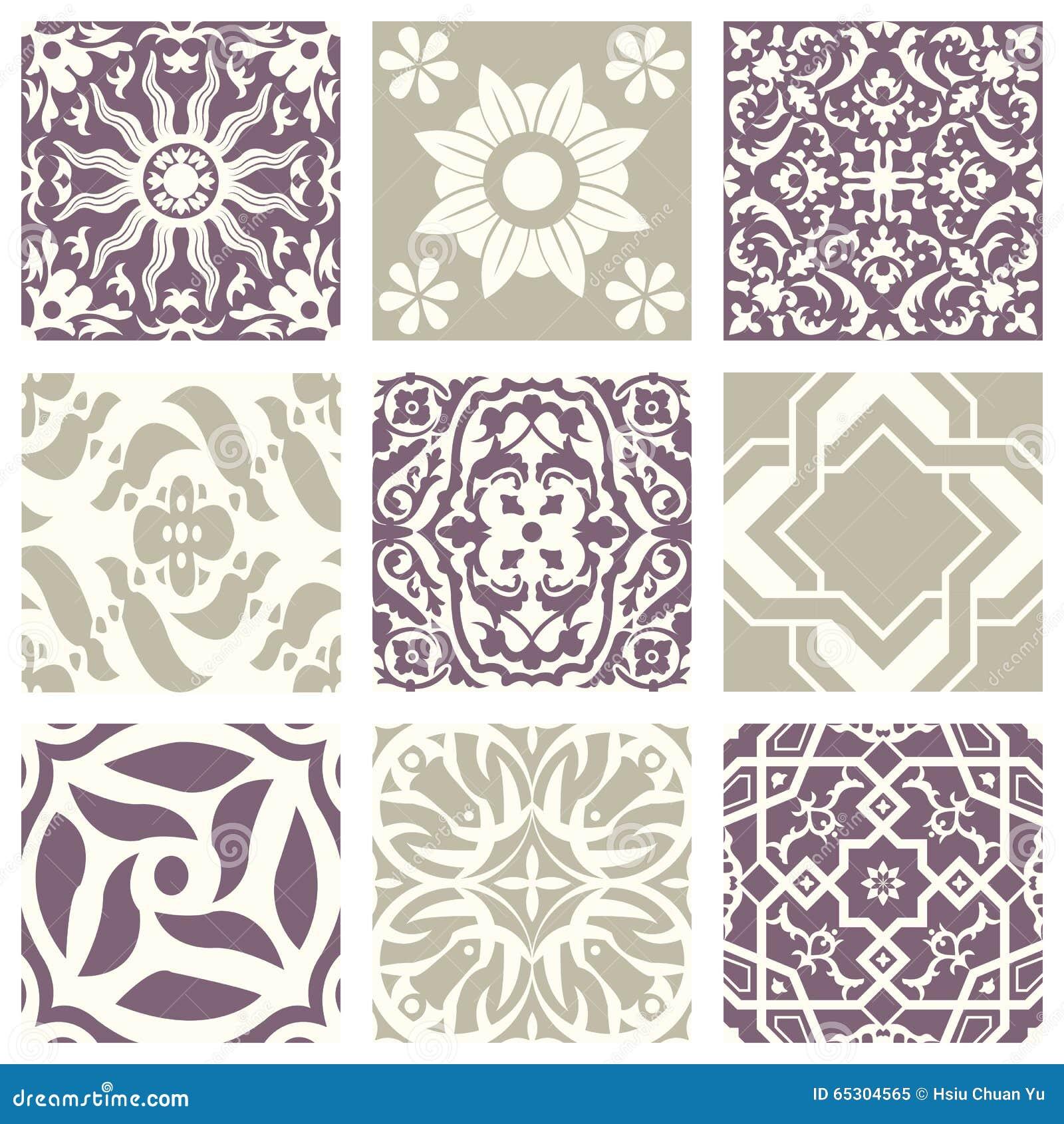 Vintage pastel pattern - photo#28