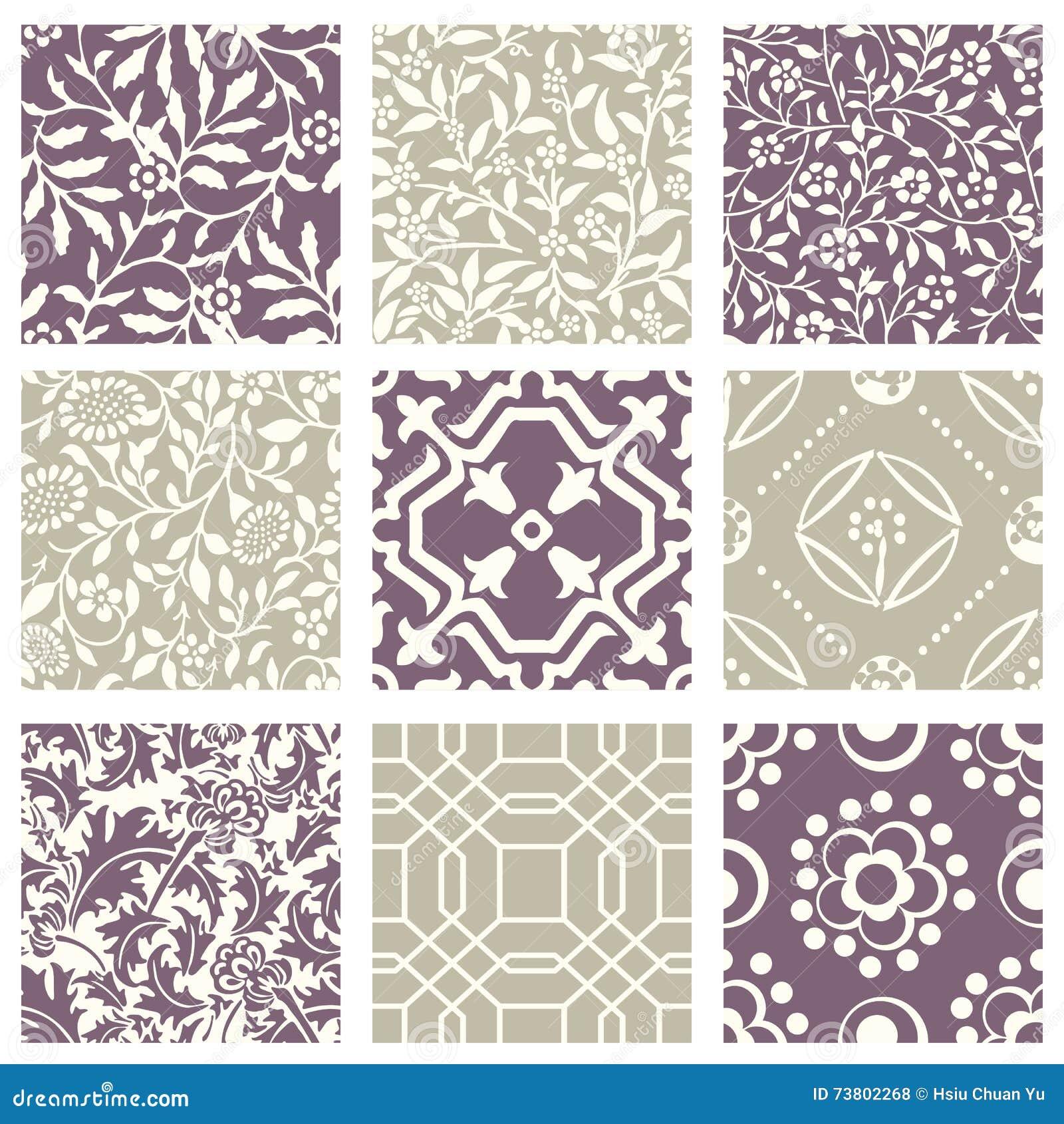 Vintage pastel pattern - photo#41