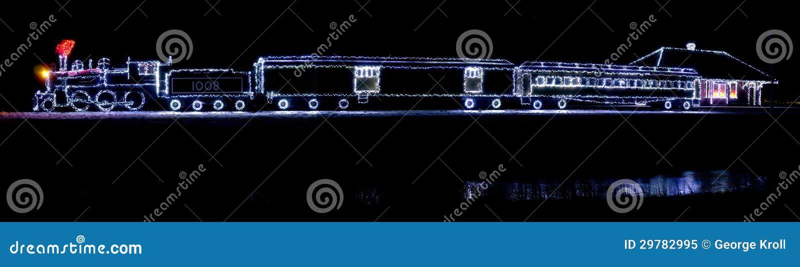 canada christmas classic lights lit morrisburg ontario train - Christmas Light Train