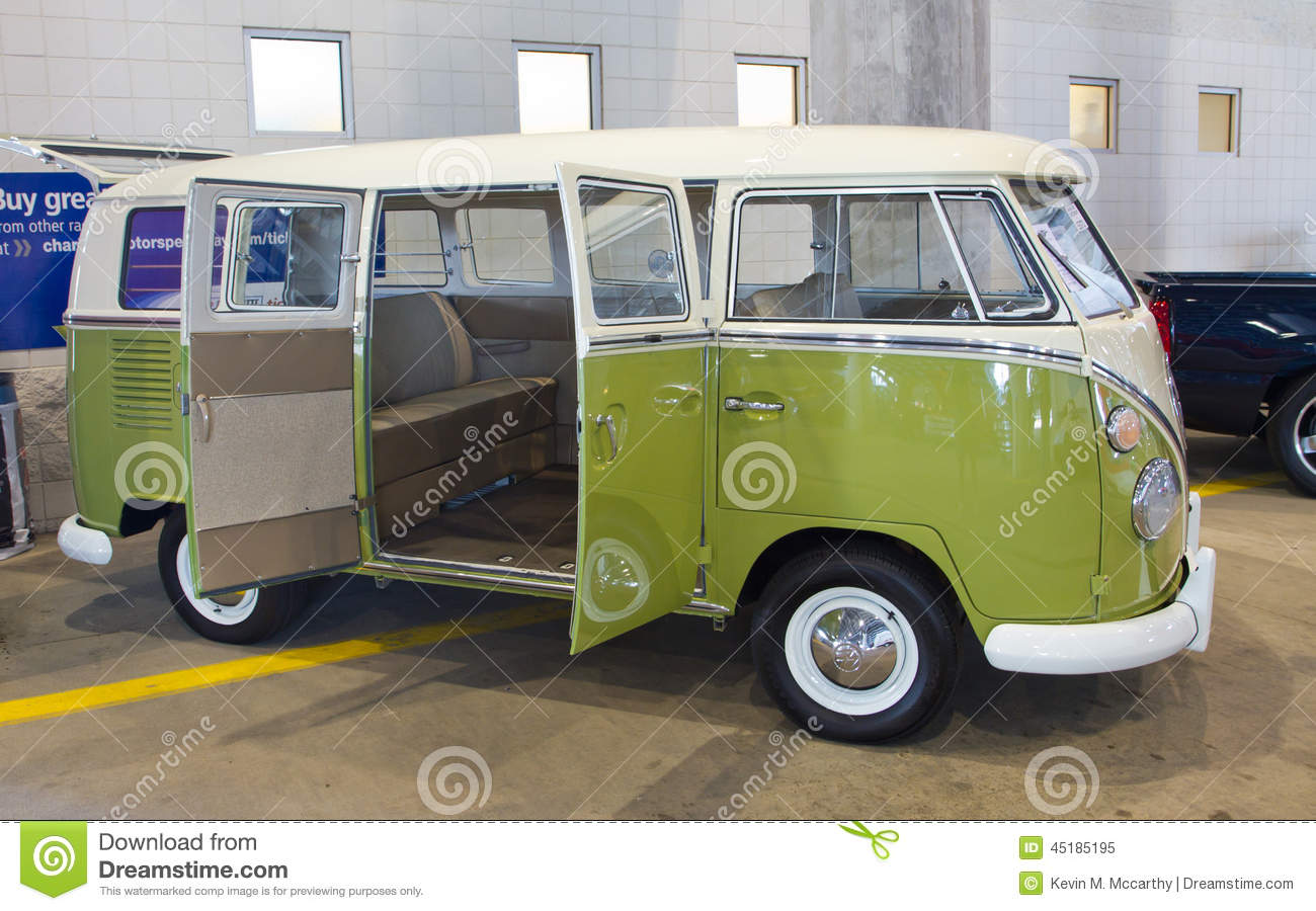 Classic 1966 Volkswagon Bus Editorial Image - Image: 45185195