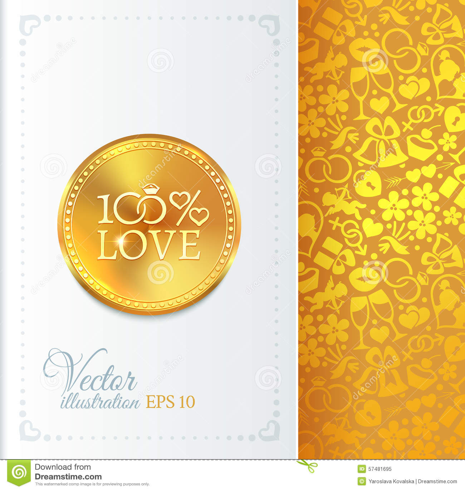Classic Wedding Vintage Badge Stock Vector - Image: 57481695