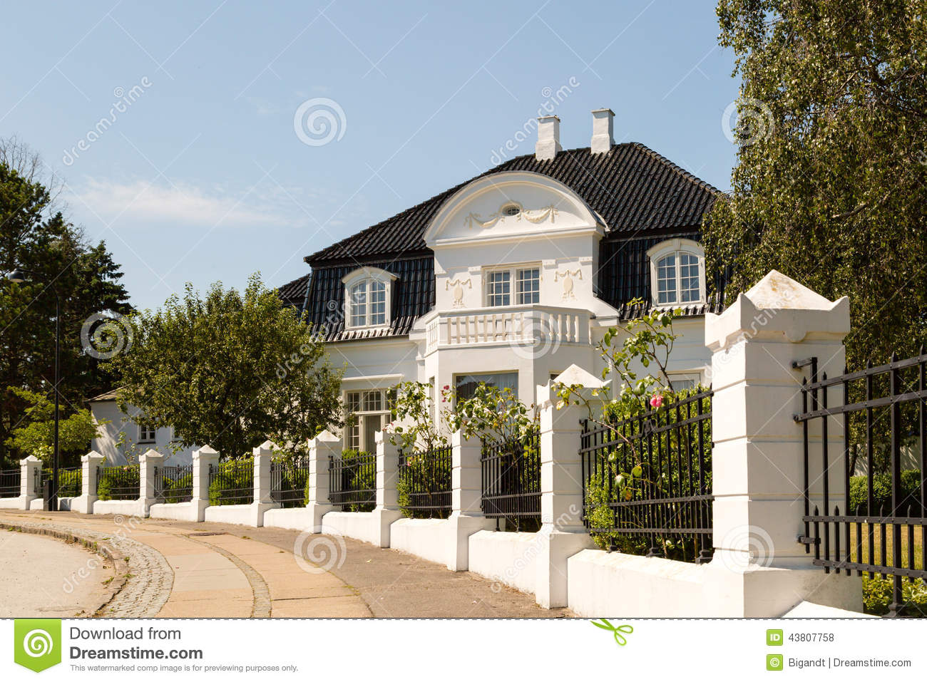 classic white mansion stock photo image of house villa