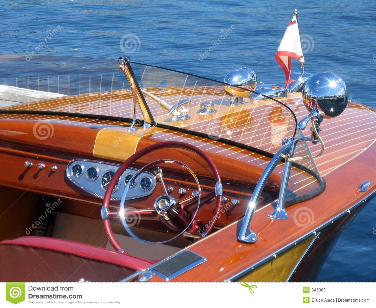 Classic Wooden Boat Royalty Free Stock Photo - Image: 845065