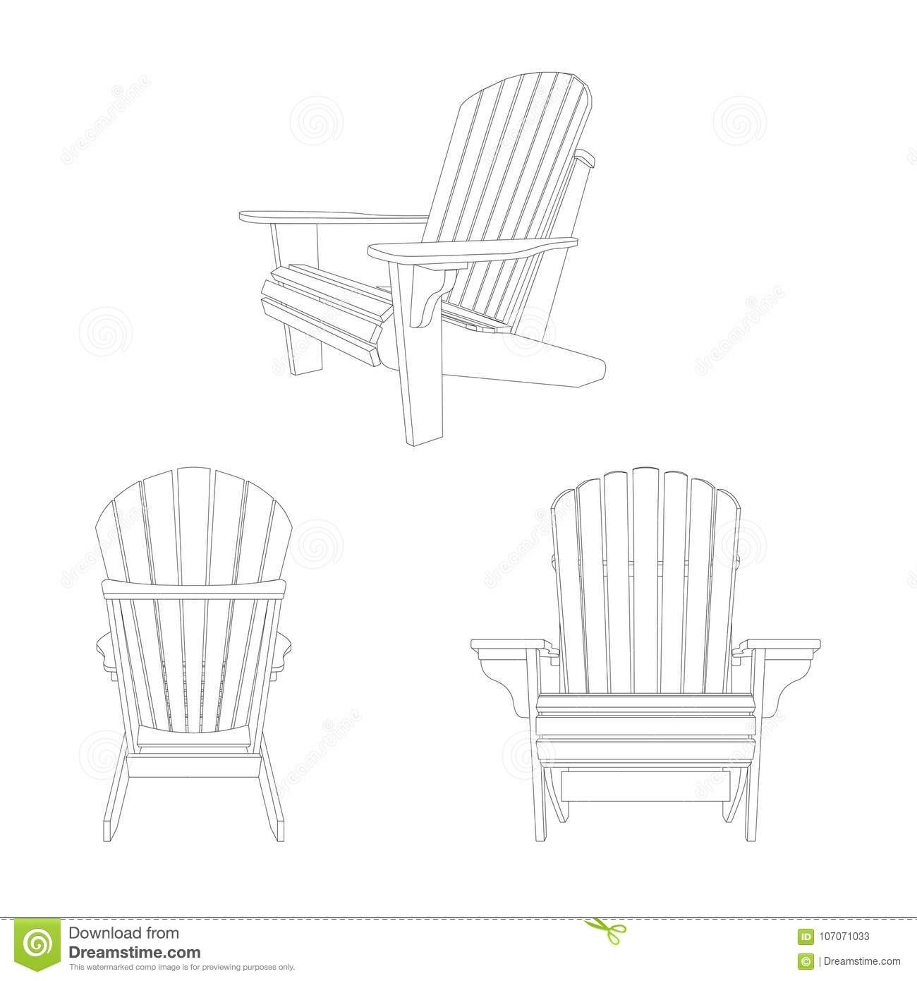 Fabulous Classic Wooden Outdoor Chair Outline Sketch Garden Beatyapartments Chair Design Images Beatyapartmentscom