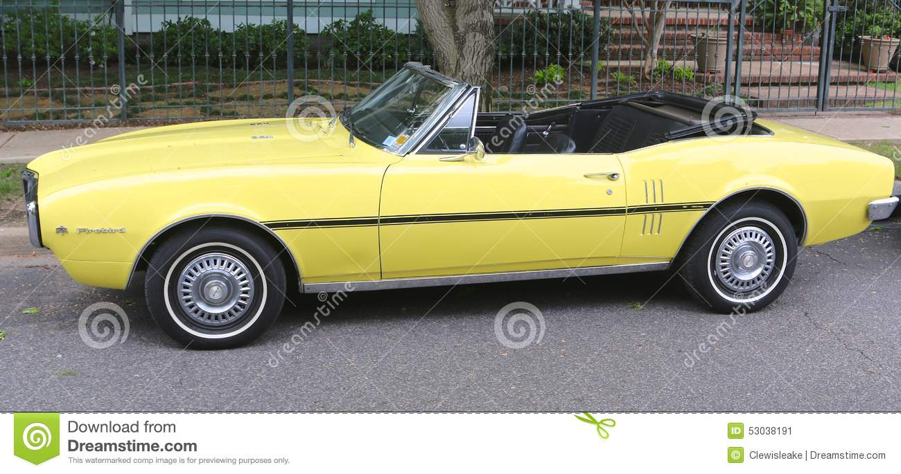 Firebird convertible editorial photo image of power for Chevrolet division of general motors