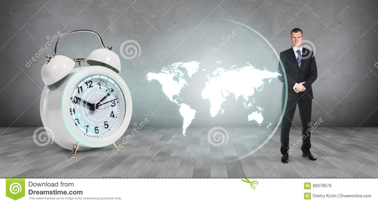 Classical alarm clock project world map stock image image of male download classical alarm clock project world map stock image image of male continent gumiabroncs Images