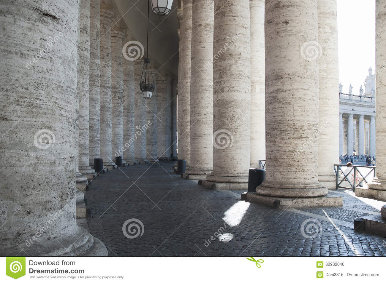 Classical Greek Architecture In The Italian Style Stock Photo