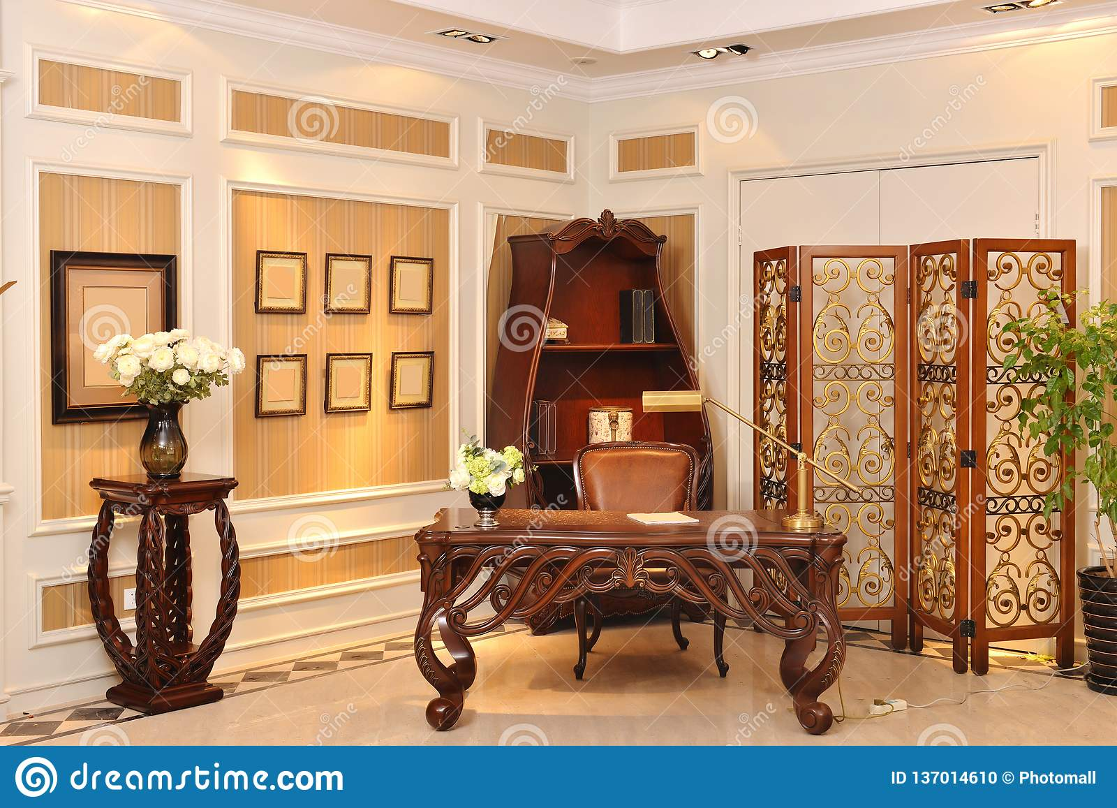 reading room luxury furniture appliance stock photo image of rh dreamstime com