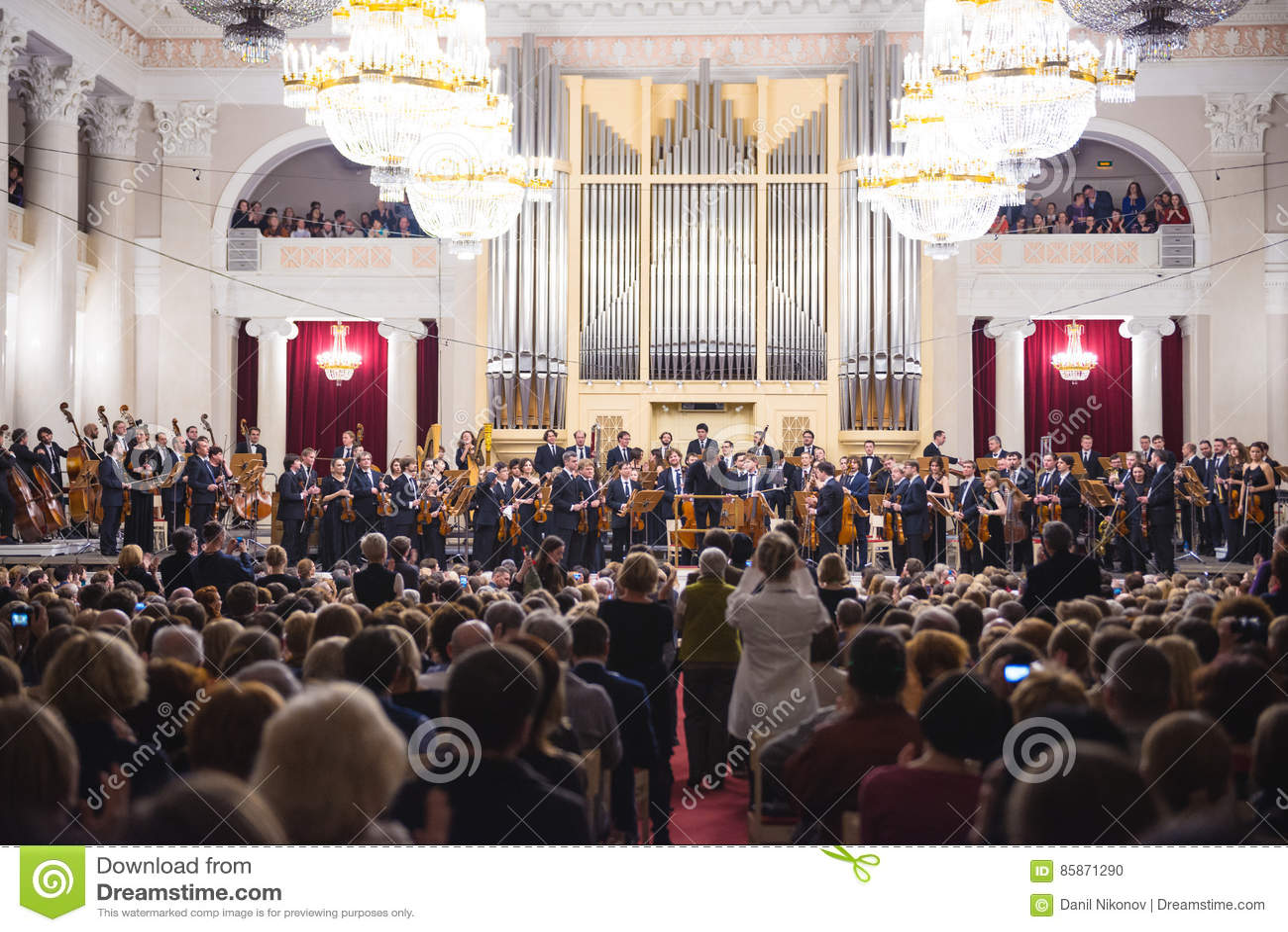 Classical music concert.