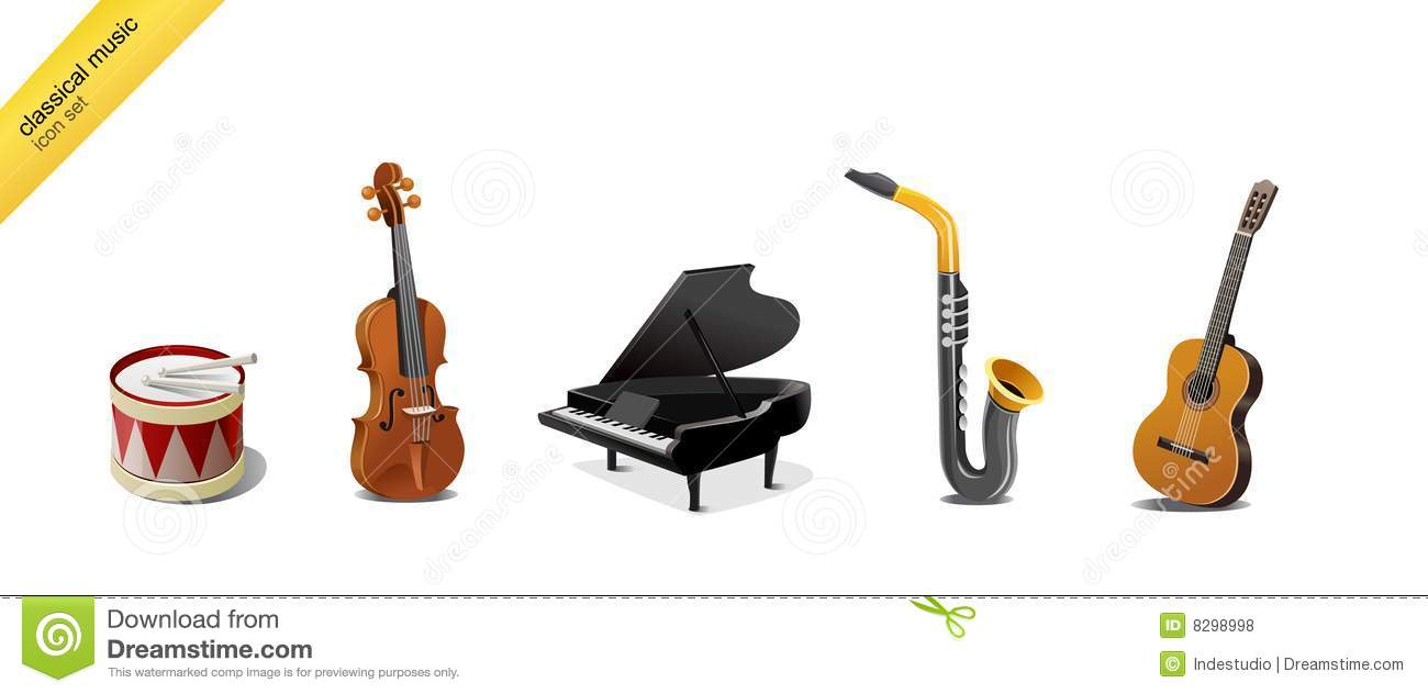 Classical Music Instruments Royalty Free Stock Photos ...