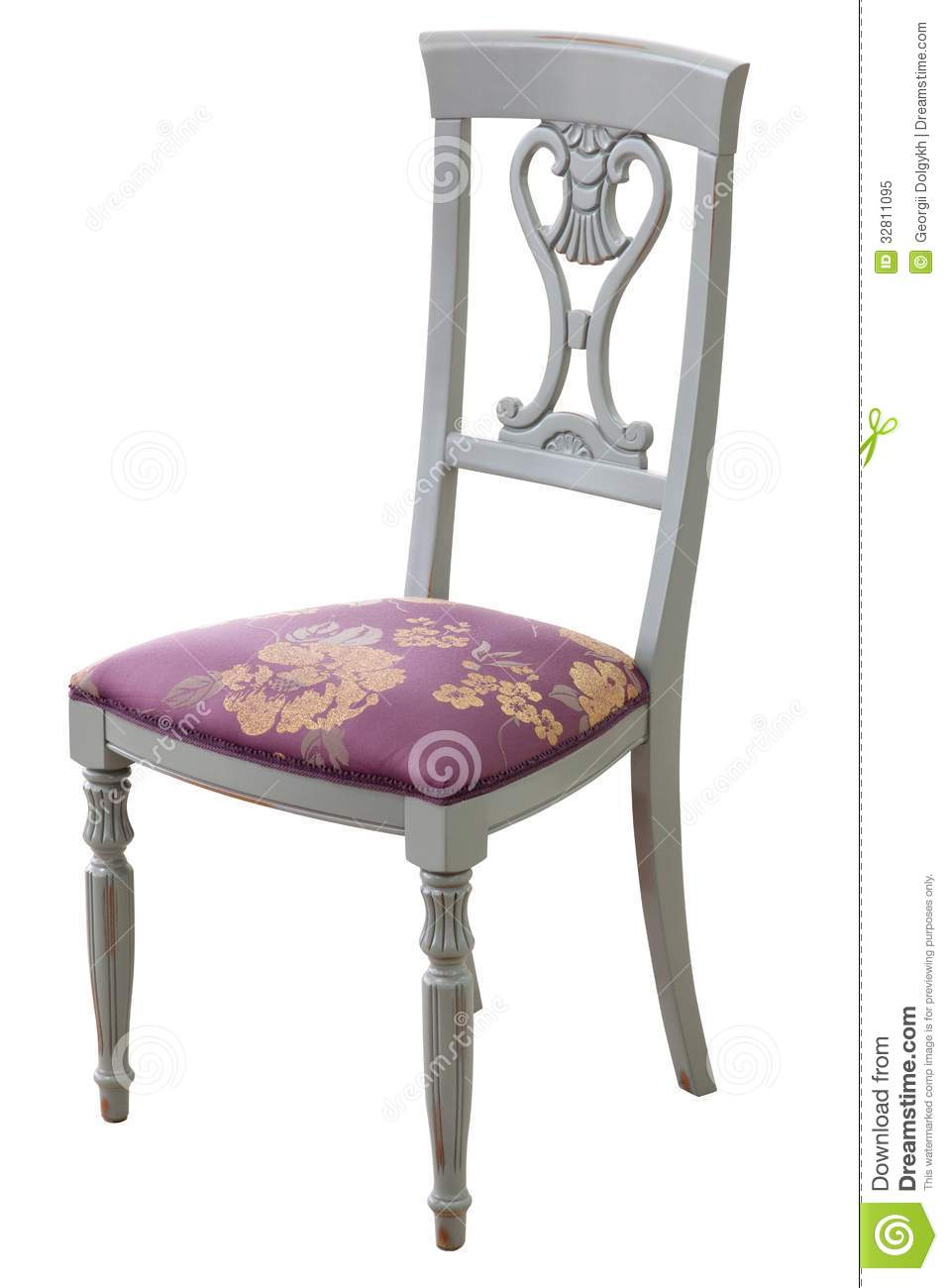 Classical Style Chair Royalty Free Stock Photo - Image