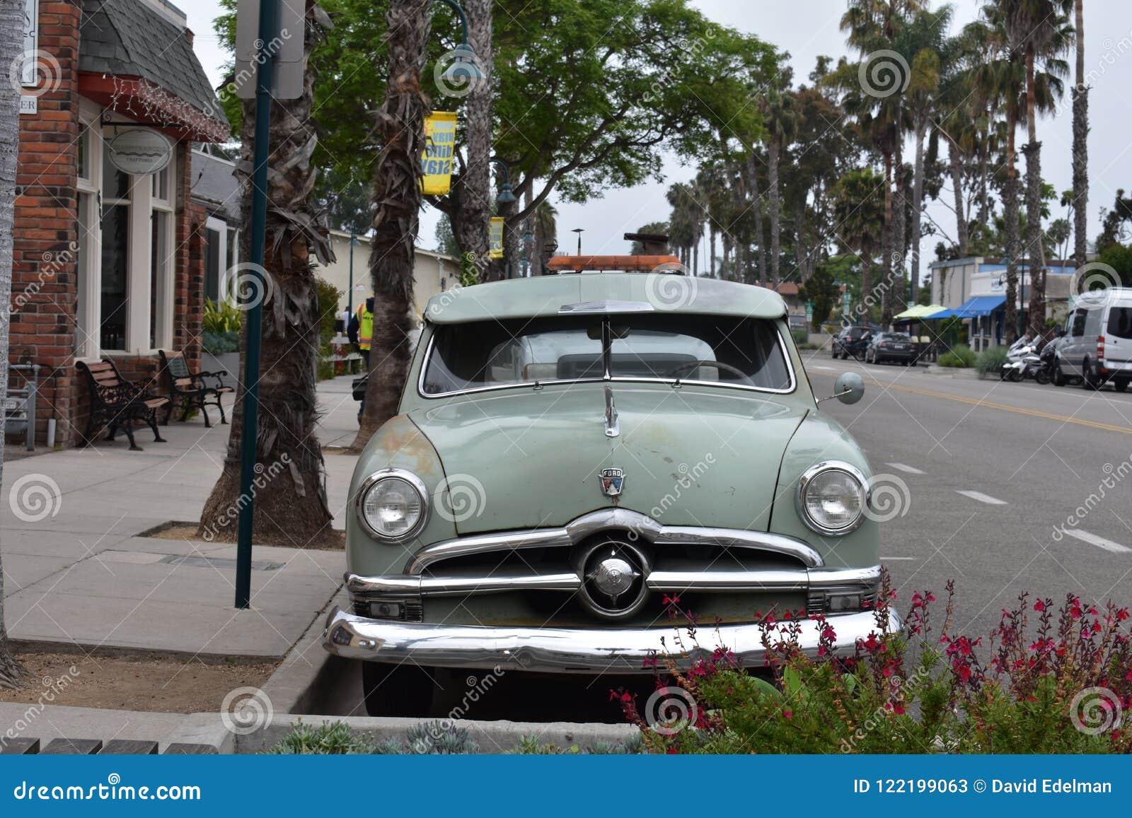 Classico Ford Fordor Sedan 1950 nel verde originale, 1