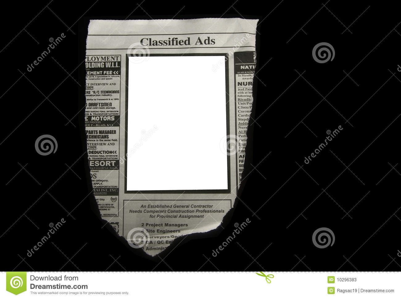 Classified ads stock image  Image of classifieds, searching - 10296383