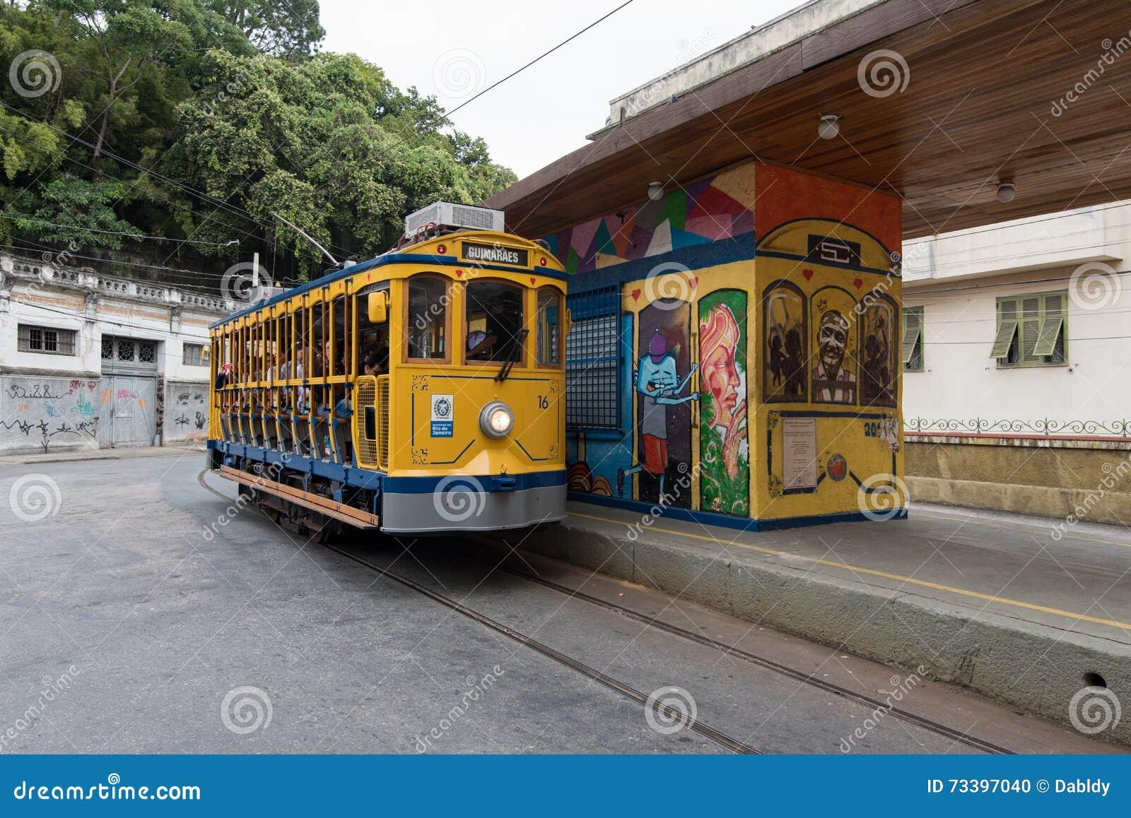 Classim-Tram von Santa Teresa in Rio de Janeiro, Brasilien