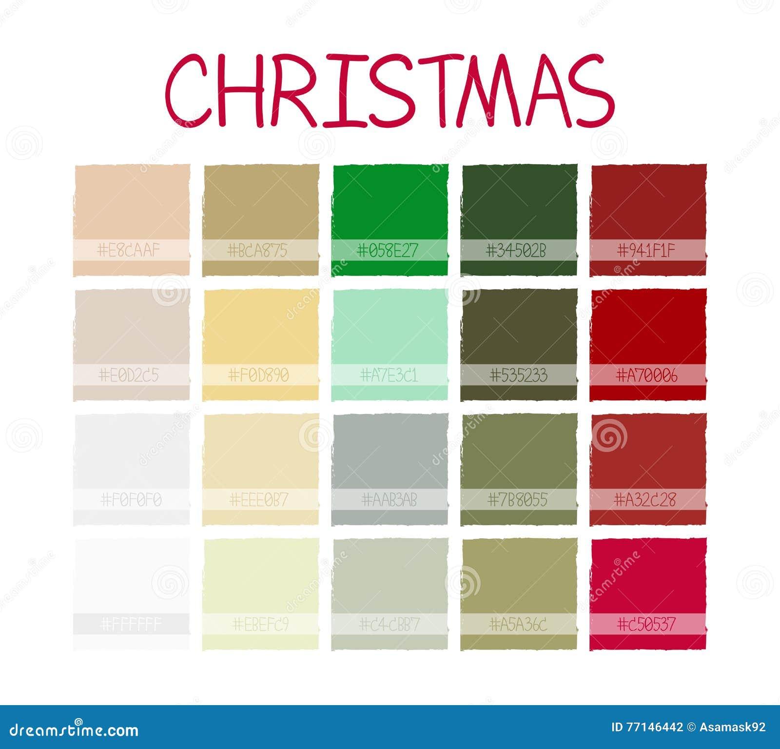 Assez Classique Tone Colors De Noël Couleurs De Vintage De Plan De  DE77