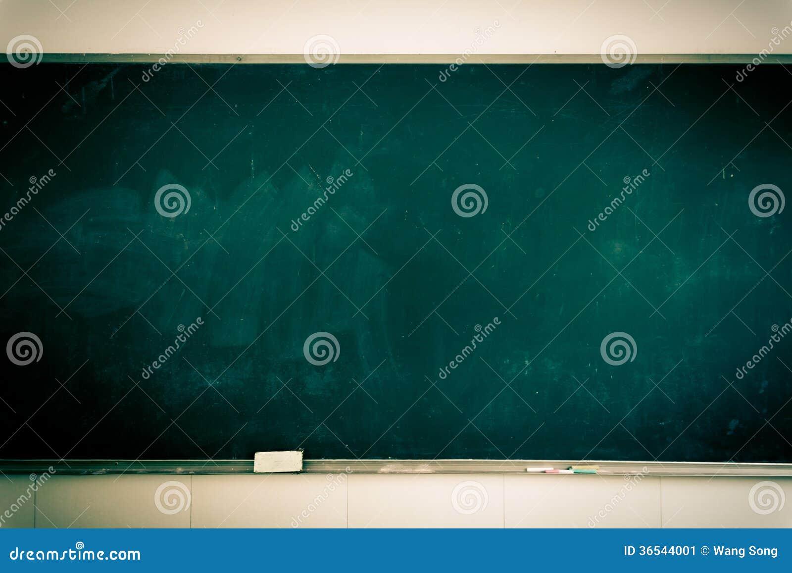 Classroom Blackboard Design ~ Classroom blackboard stock image