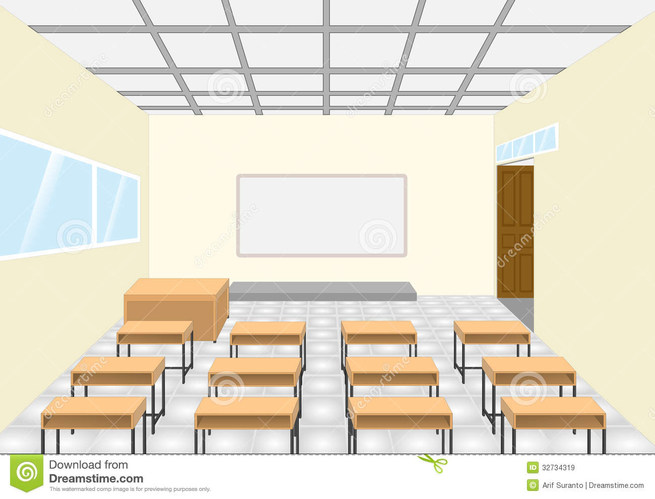 Classroom Royalty Free Stock Images Image 32734319