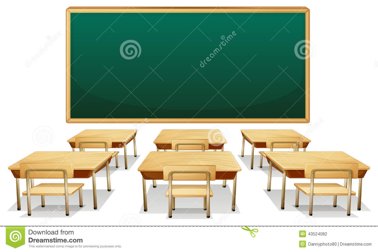 Classroom Stock Vector Illustration Of Clipart Isolated