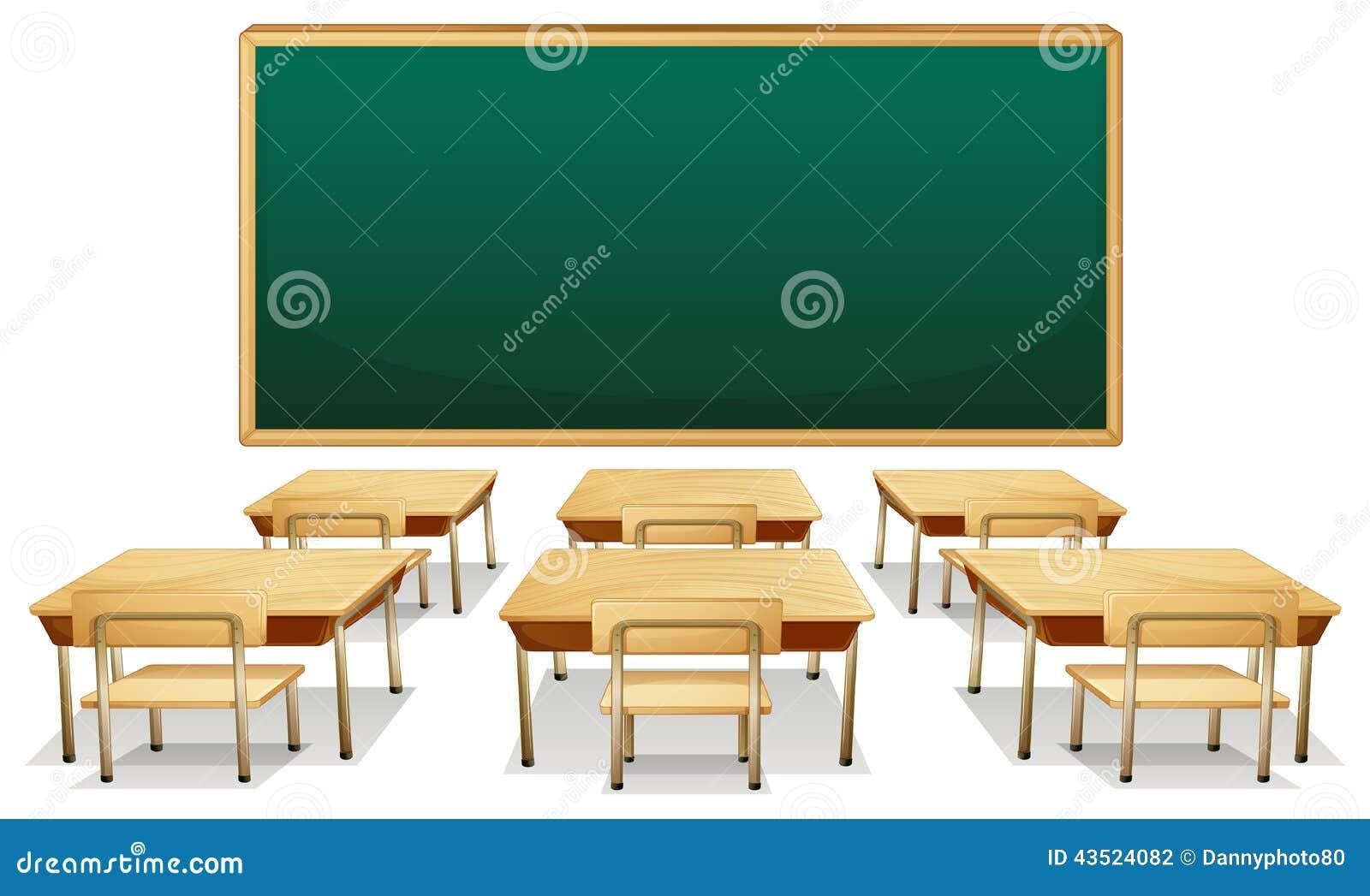 Classroom Stock Vector Image 43524082