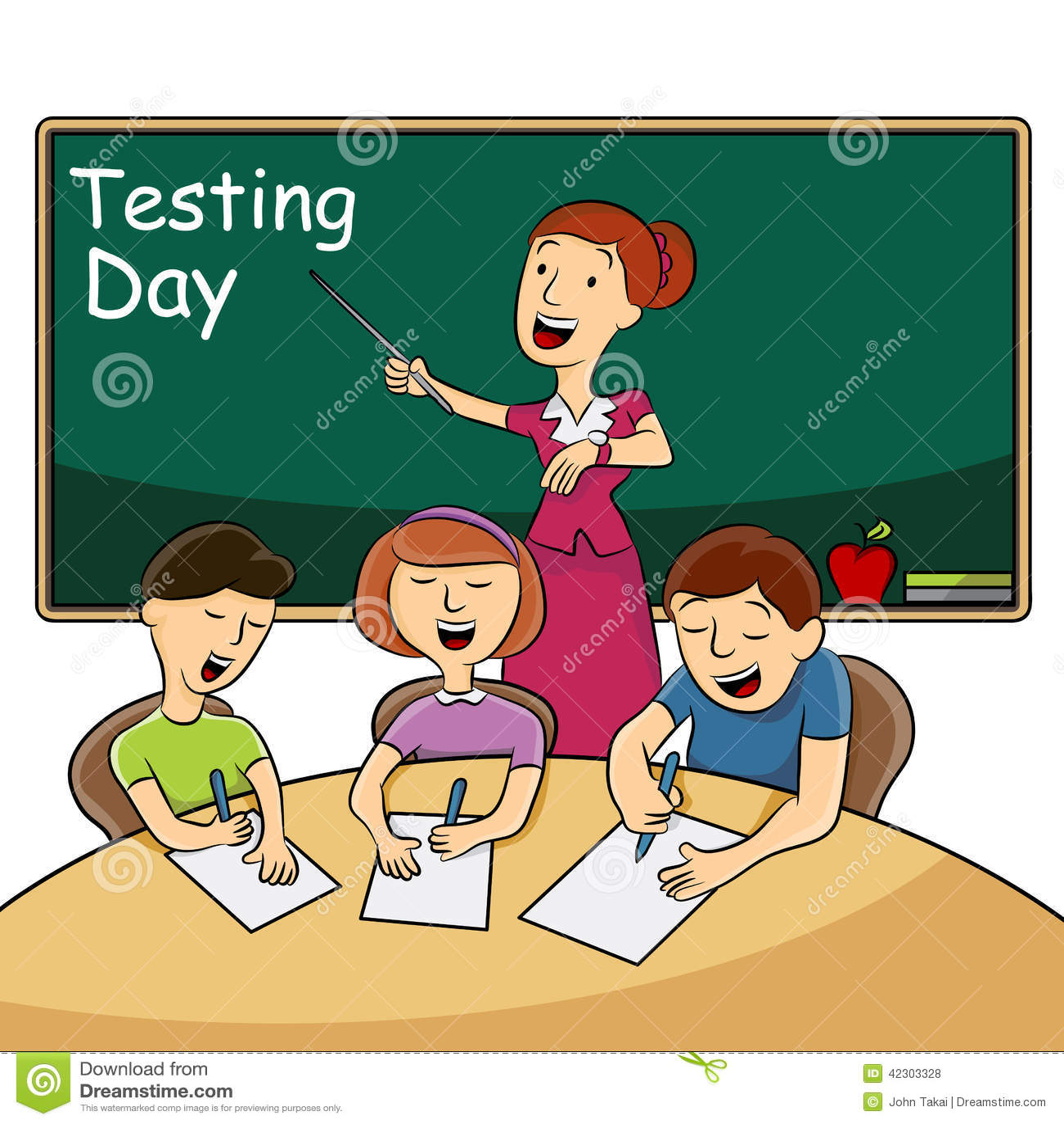 Classroom Testing Day