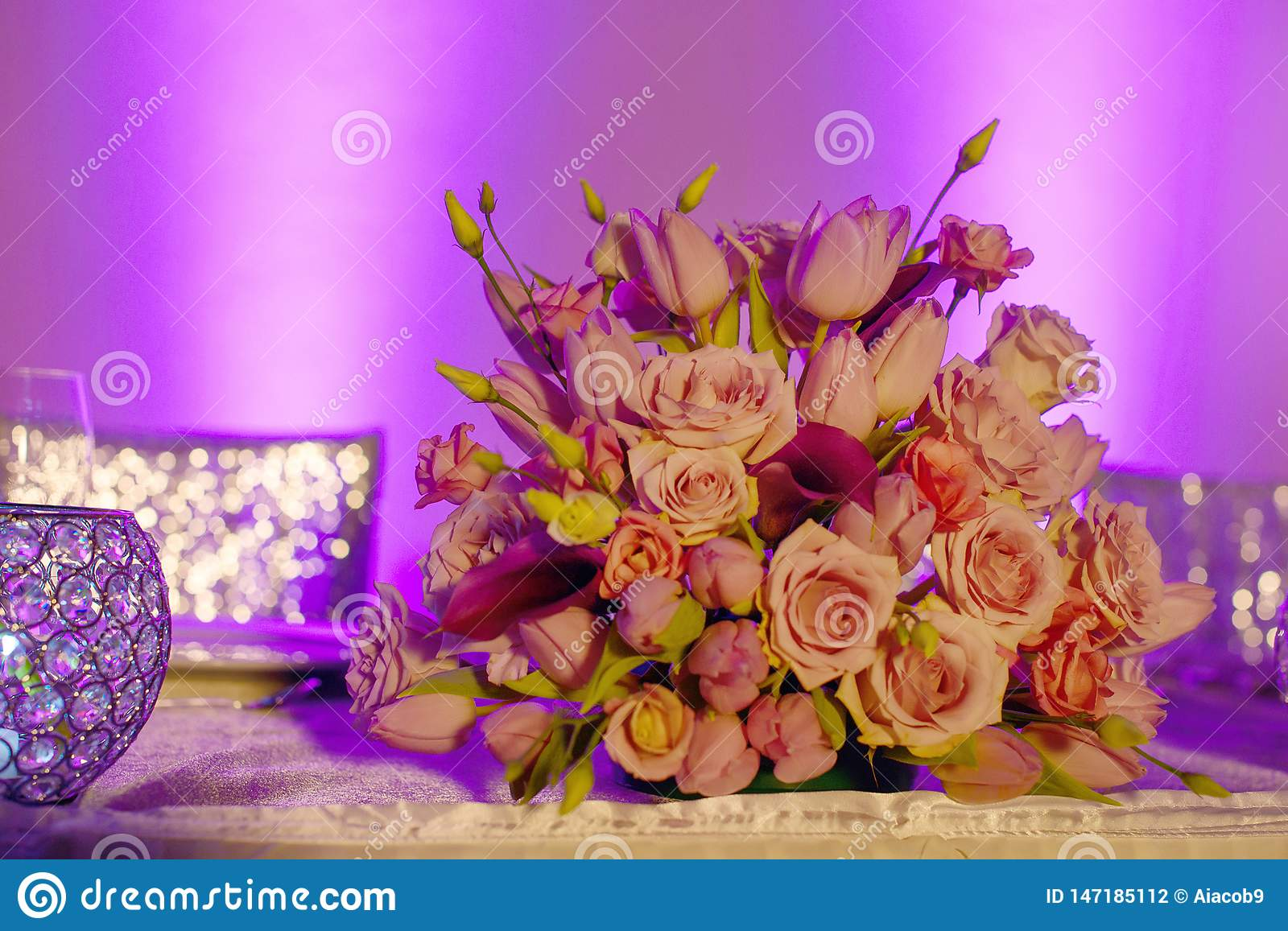 Classy Floral Arrangement In A Pastel Pink Hues Bouquet Featuring ...