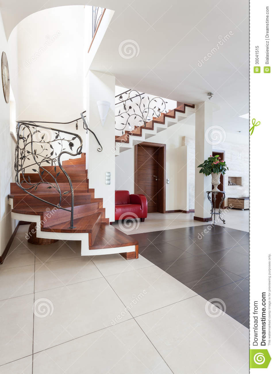 Classy house modern interior royalty free stock photo for Modern classic house interior