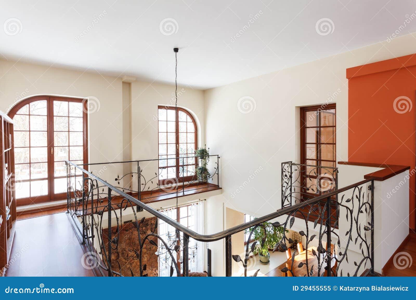 Classy House Mezzanine Royalty Free Stock Photo Image