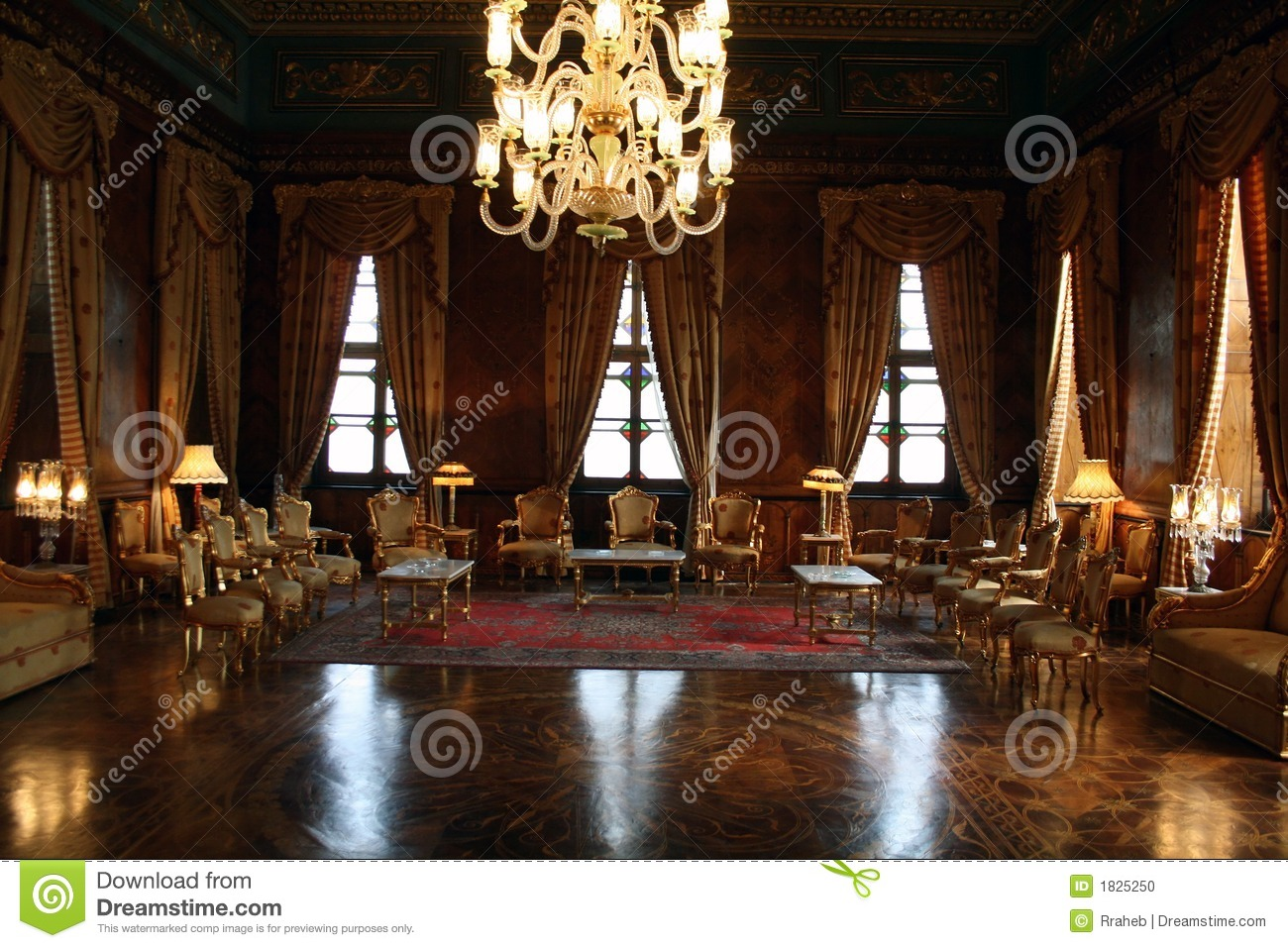 Classy Room Mohamed Ali Palace Stock Photo Image Of