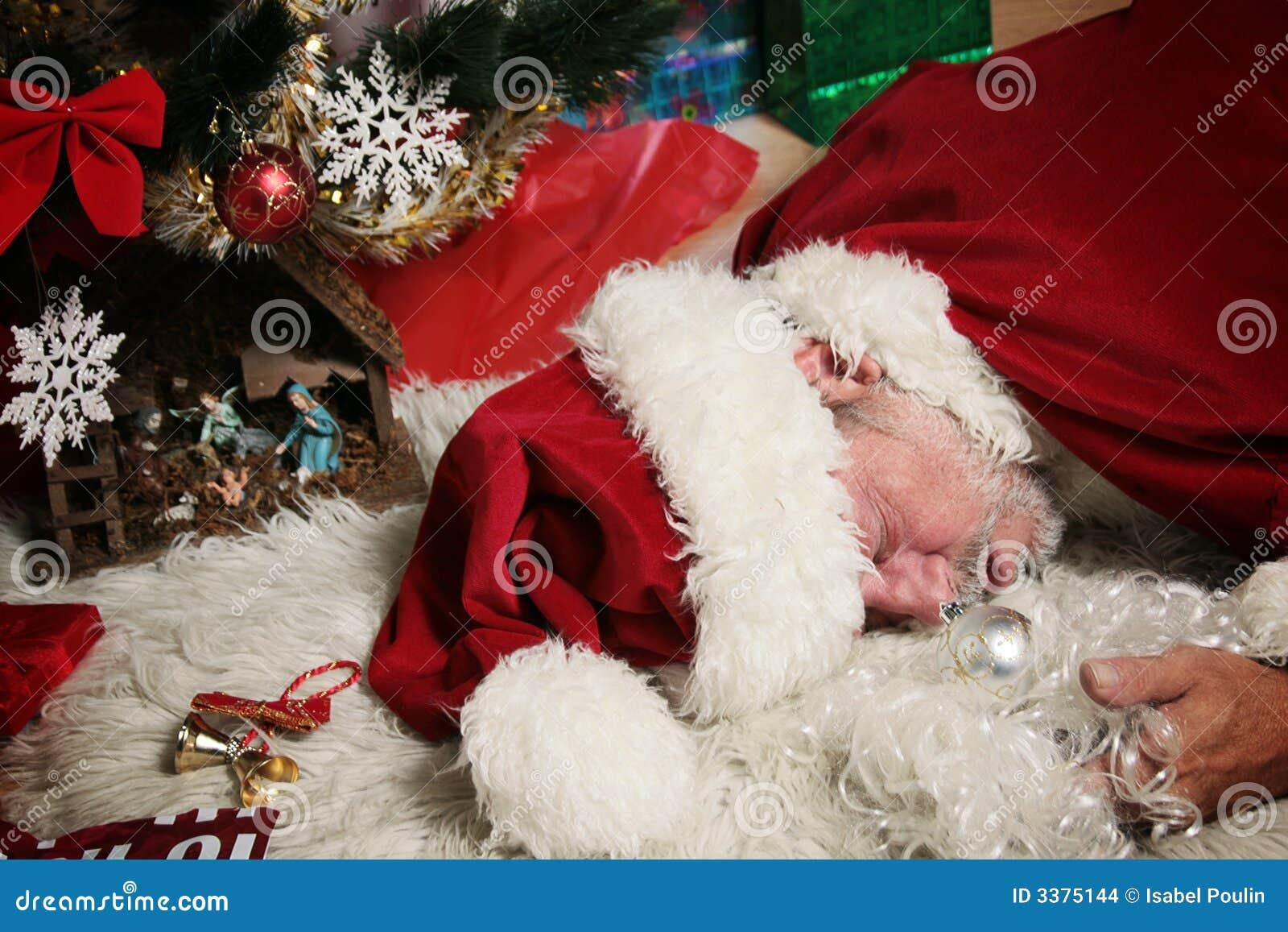 Claus fyllerist santa