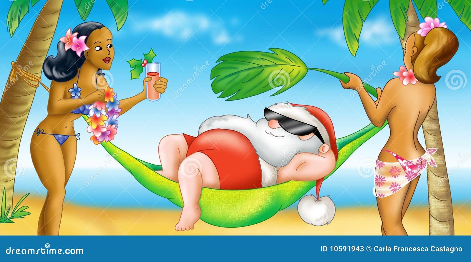 Claus hawaii ferie santa
