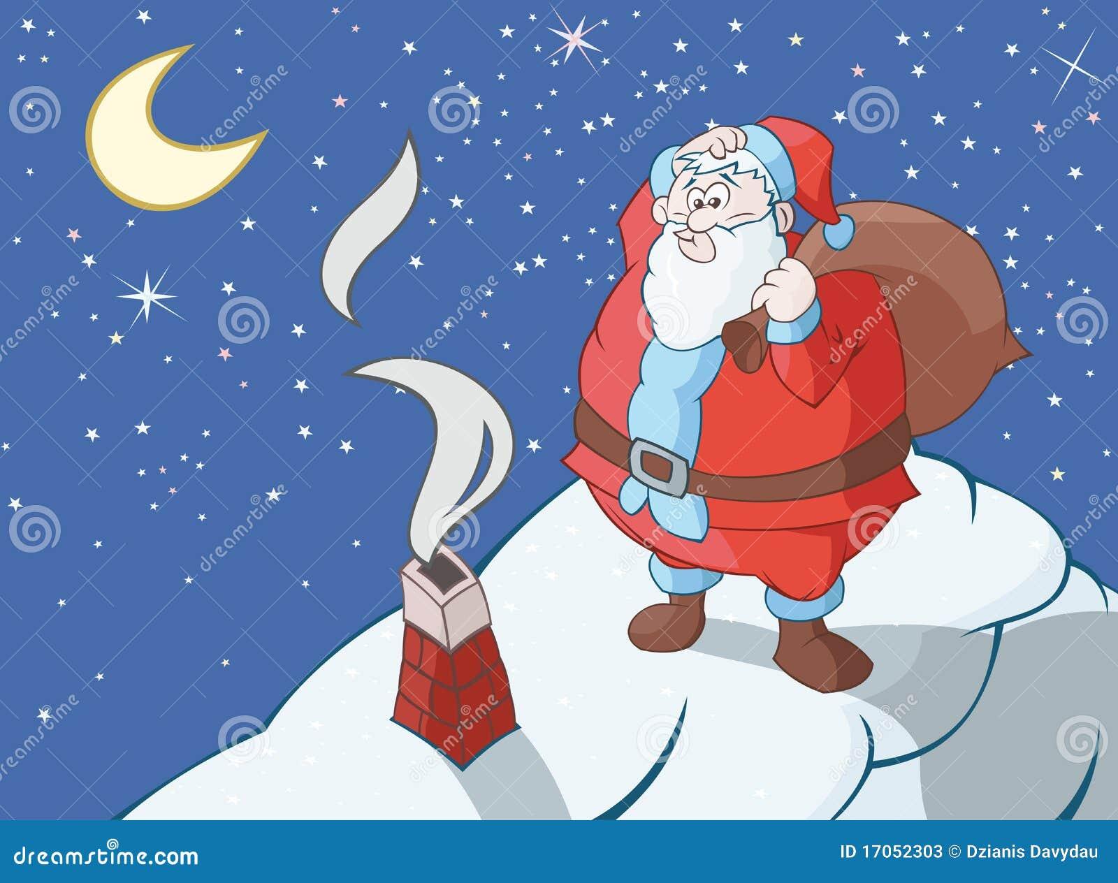 Claus ogromny Santa