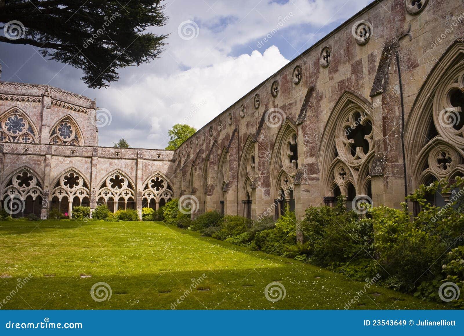 Claustros da catedral de Salisbúria