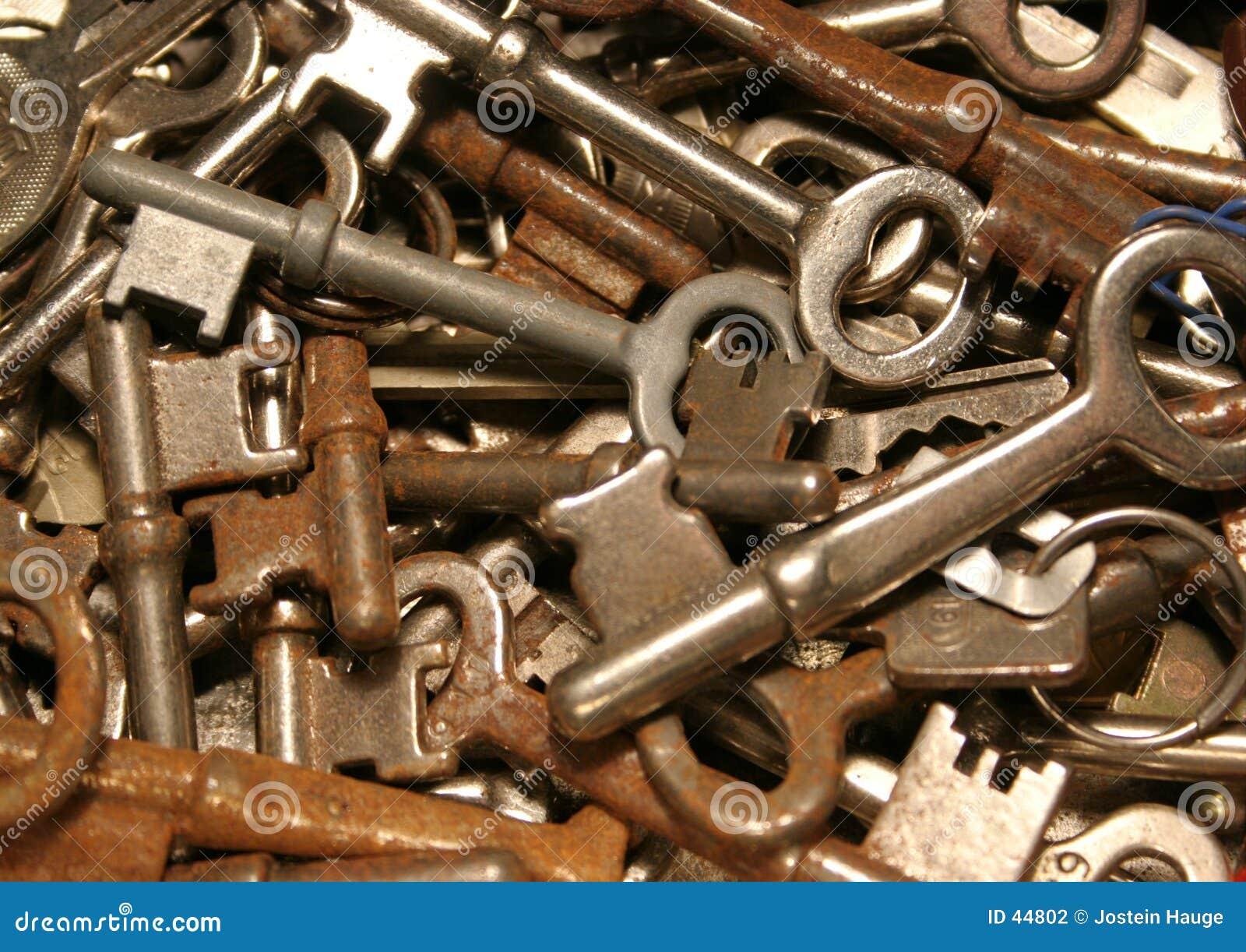 Download Claves foto de archivo. Imagen de seguridad, oxidado, multiplicidad - 44802