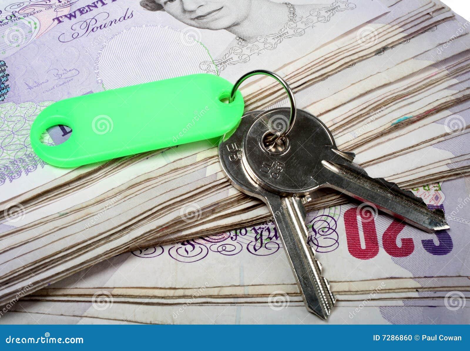 Claves de la casa y libras británicas