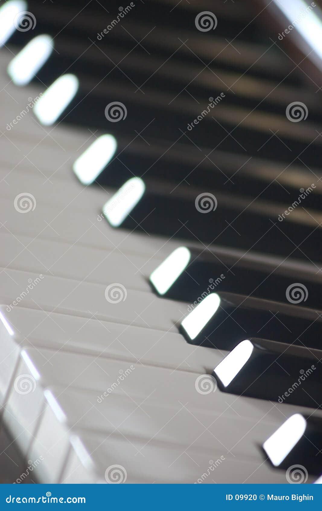Claves del piano