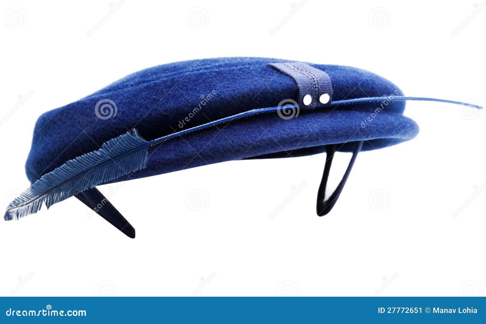 Clavette sur le chapeau