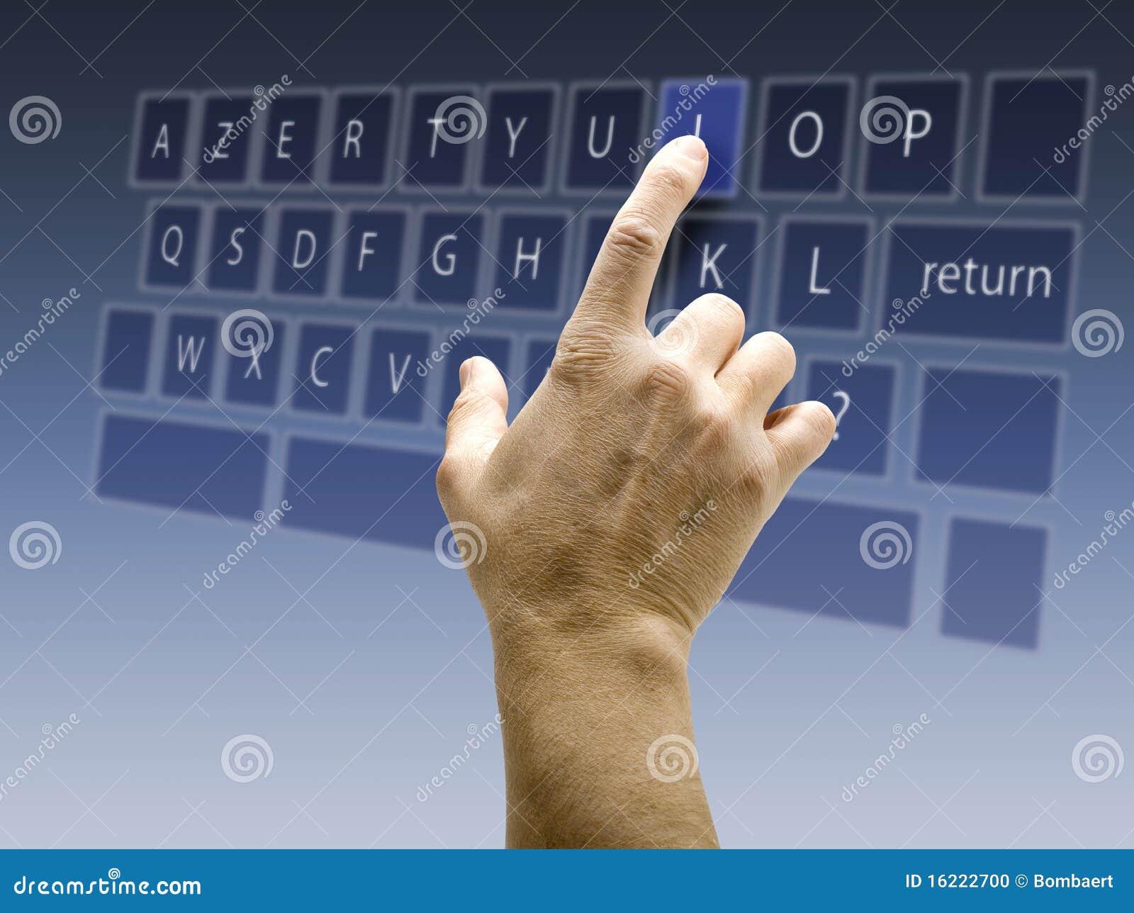 Fond d'écran tactile