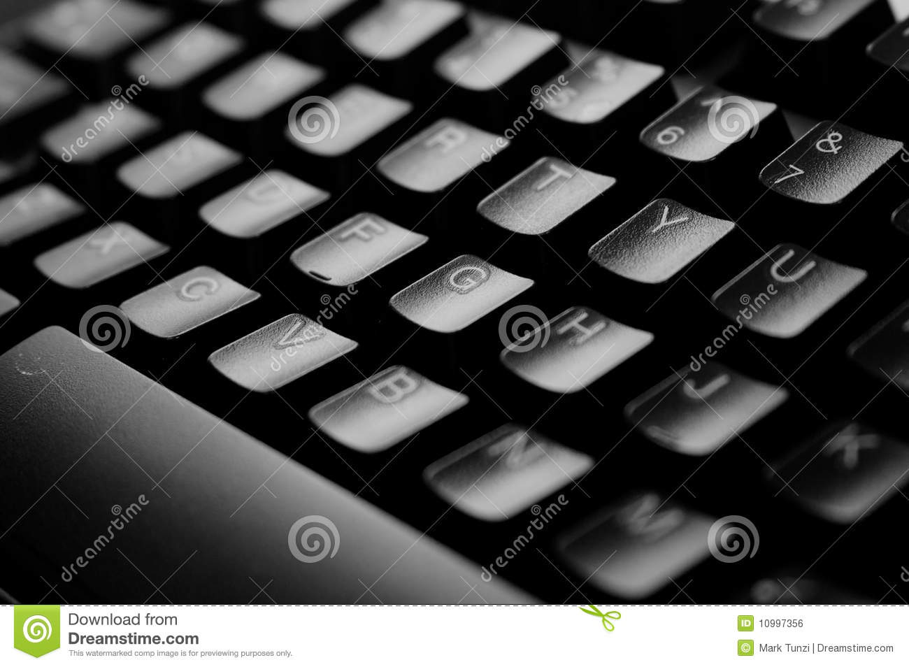 Clavier d 39 ordinateur image libre de droits image 10997356 for Photo d ordinateur