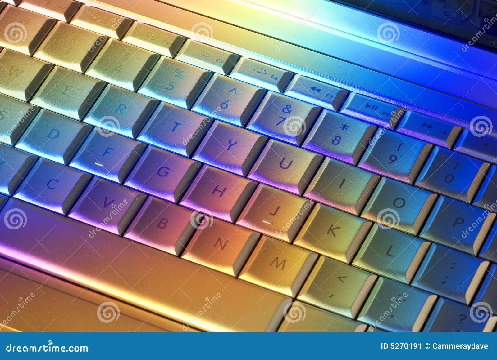 Clavier D Ordinateur Color 233 Image Stock Image 5270191