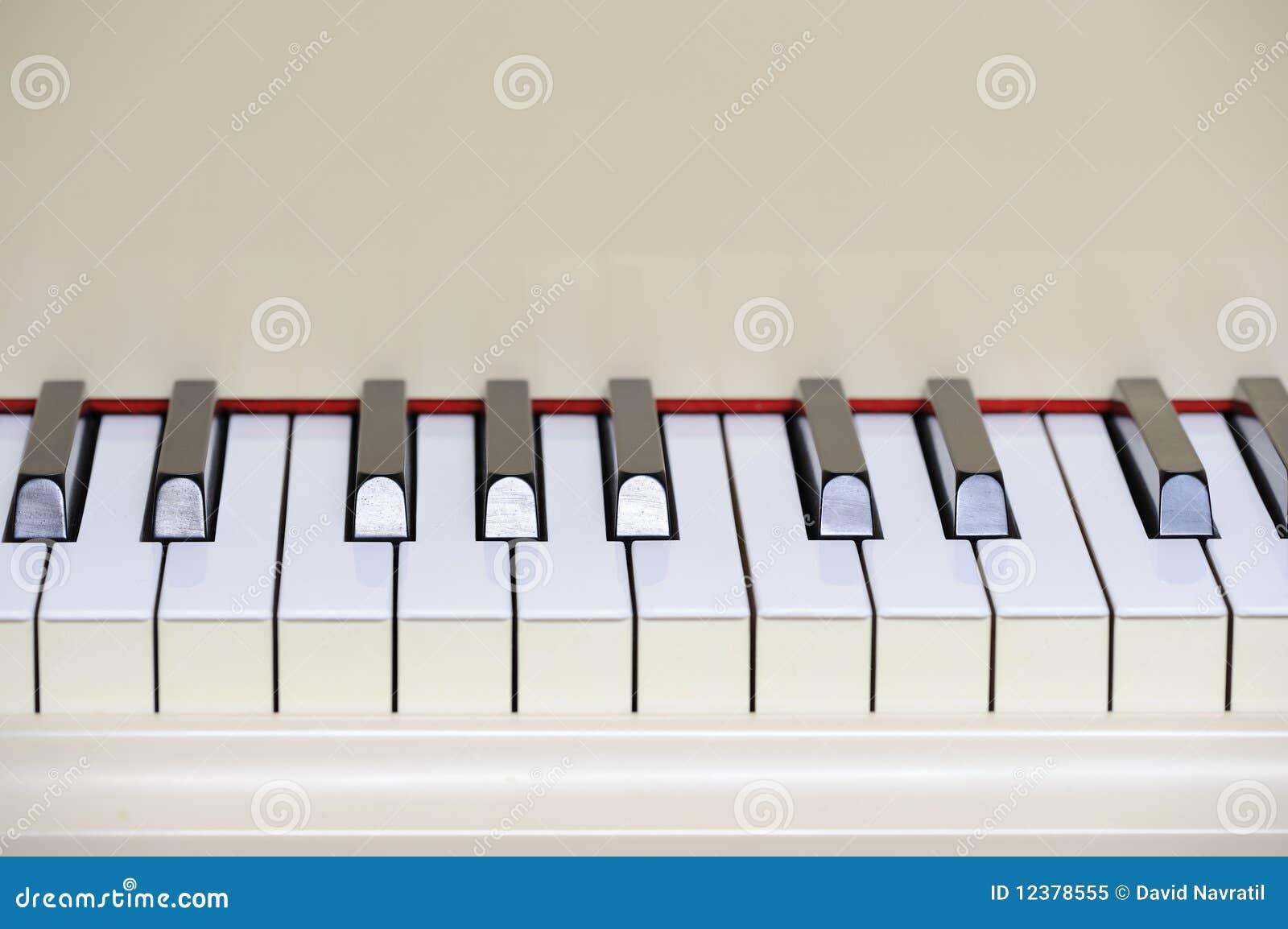 clavier de piano queue photo libre de droits image. Black Bedroom Furniture Sets. Home Design Ideas
