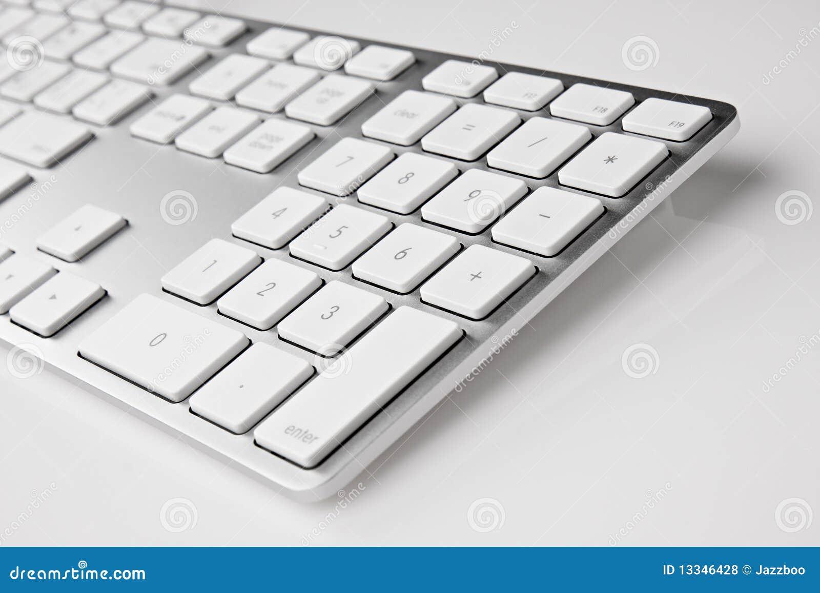 Clavier en aluminium
