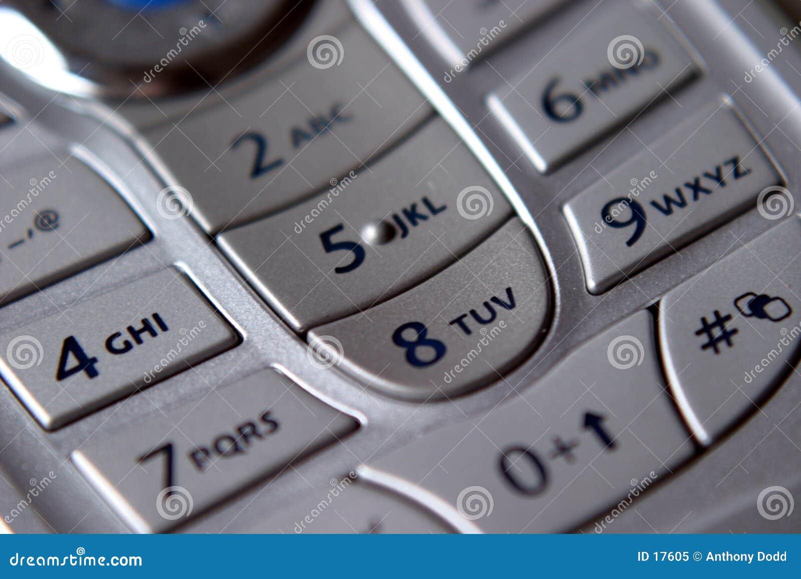 Clavier numérique mobile